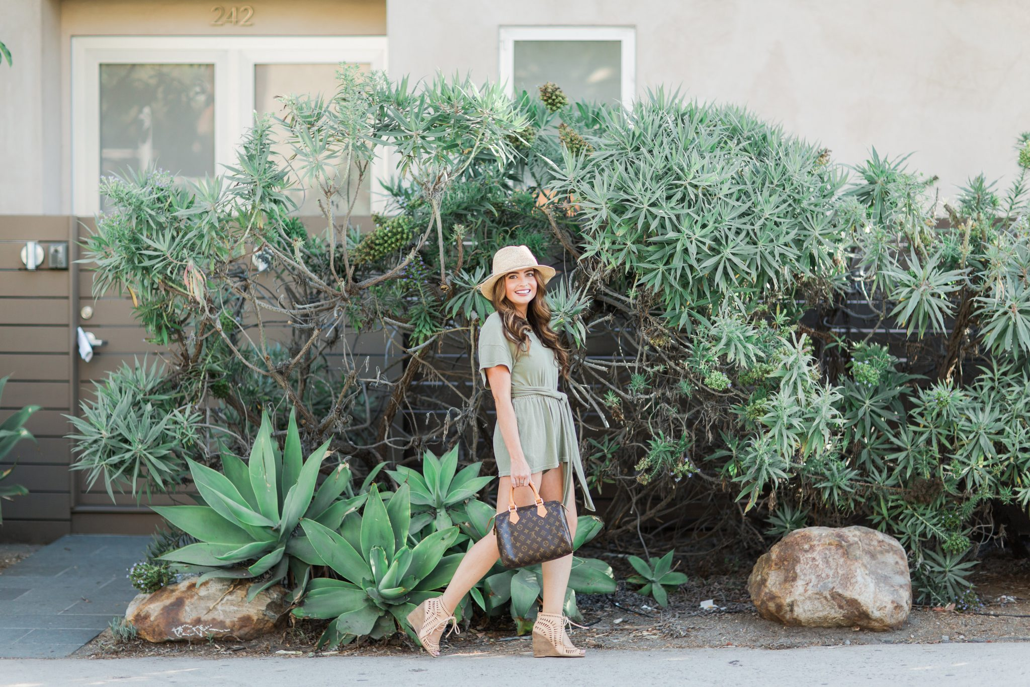 Maxie Elle | Olive green romper