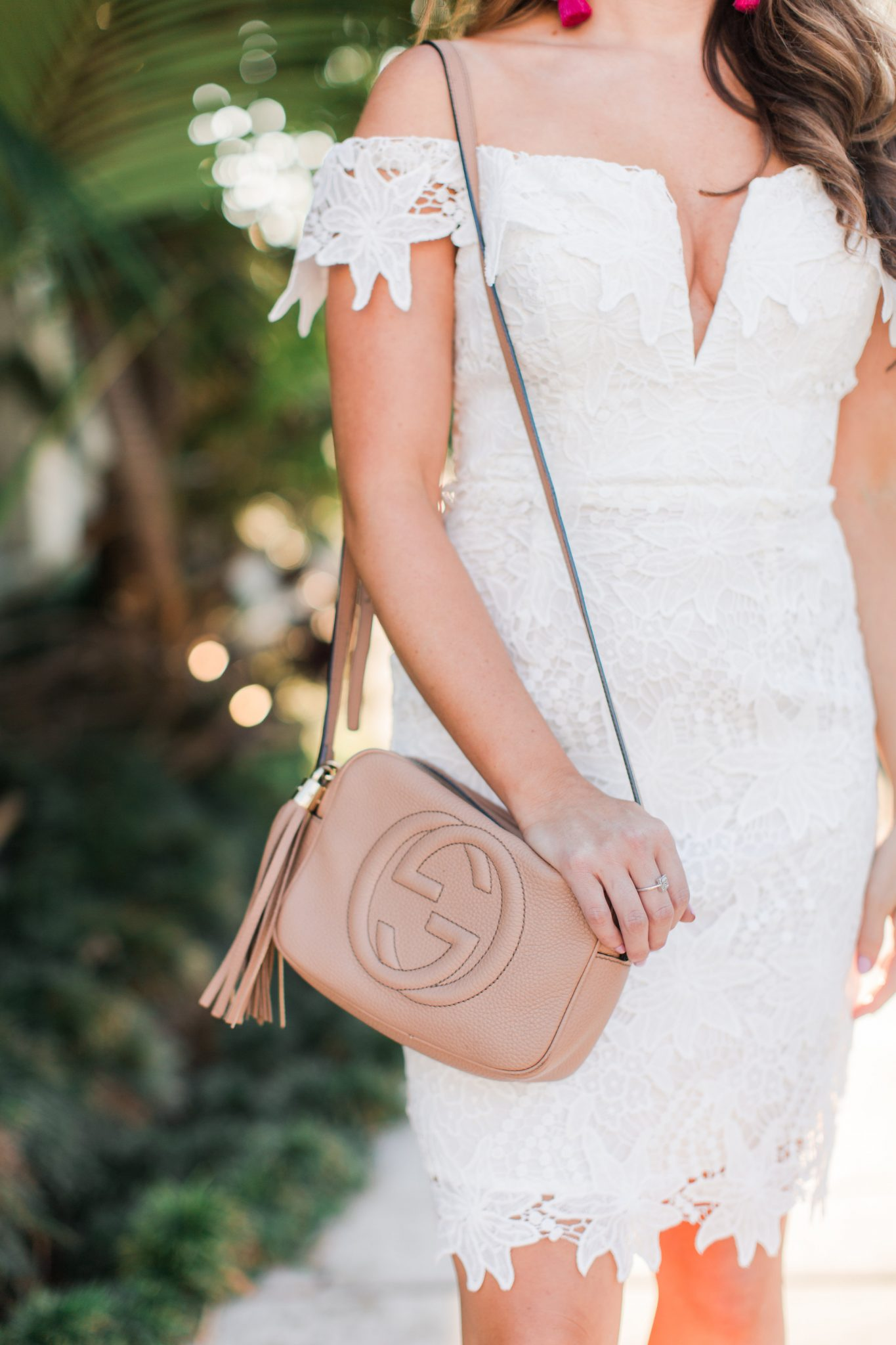Maxie Elle | Gucci soho disco bag - Wedding Shower Outfit by popular Orange County fashion blogger Maxie Elle