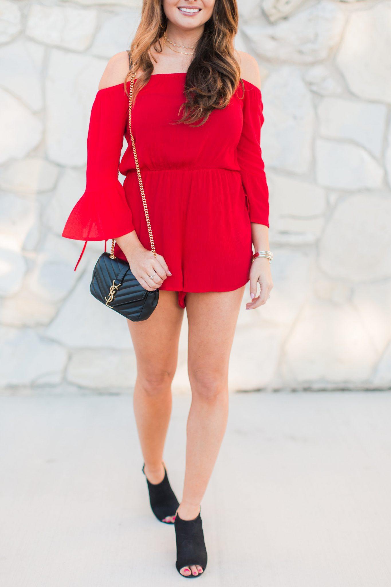 Maxie Elle | Red Romper