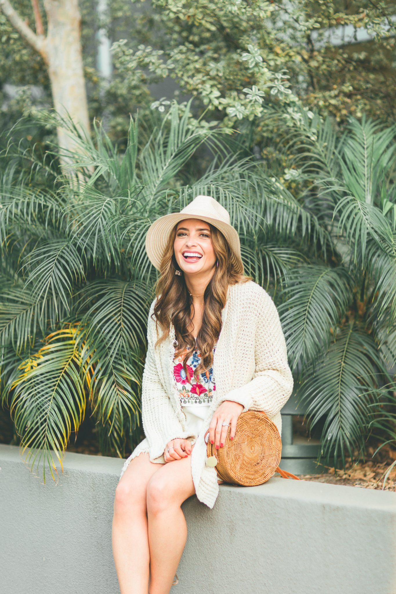Fun Beach Look by popular Orange County style blogger Maxie Elle