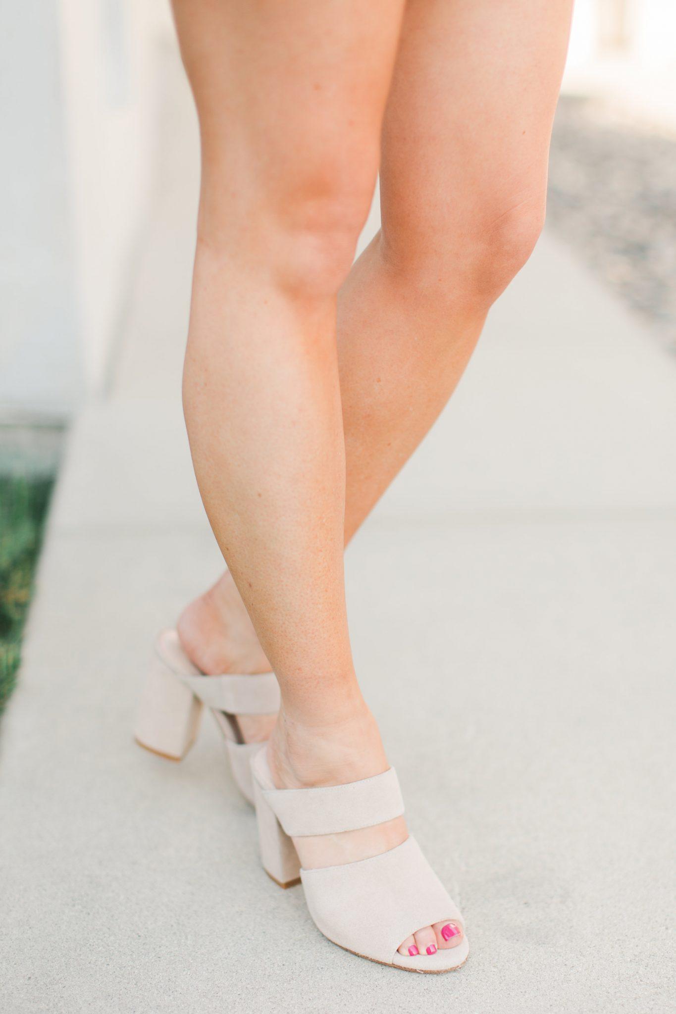 Maxie Elle | Pink suede skirt