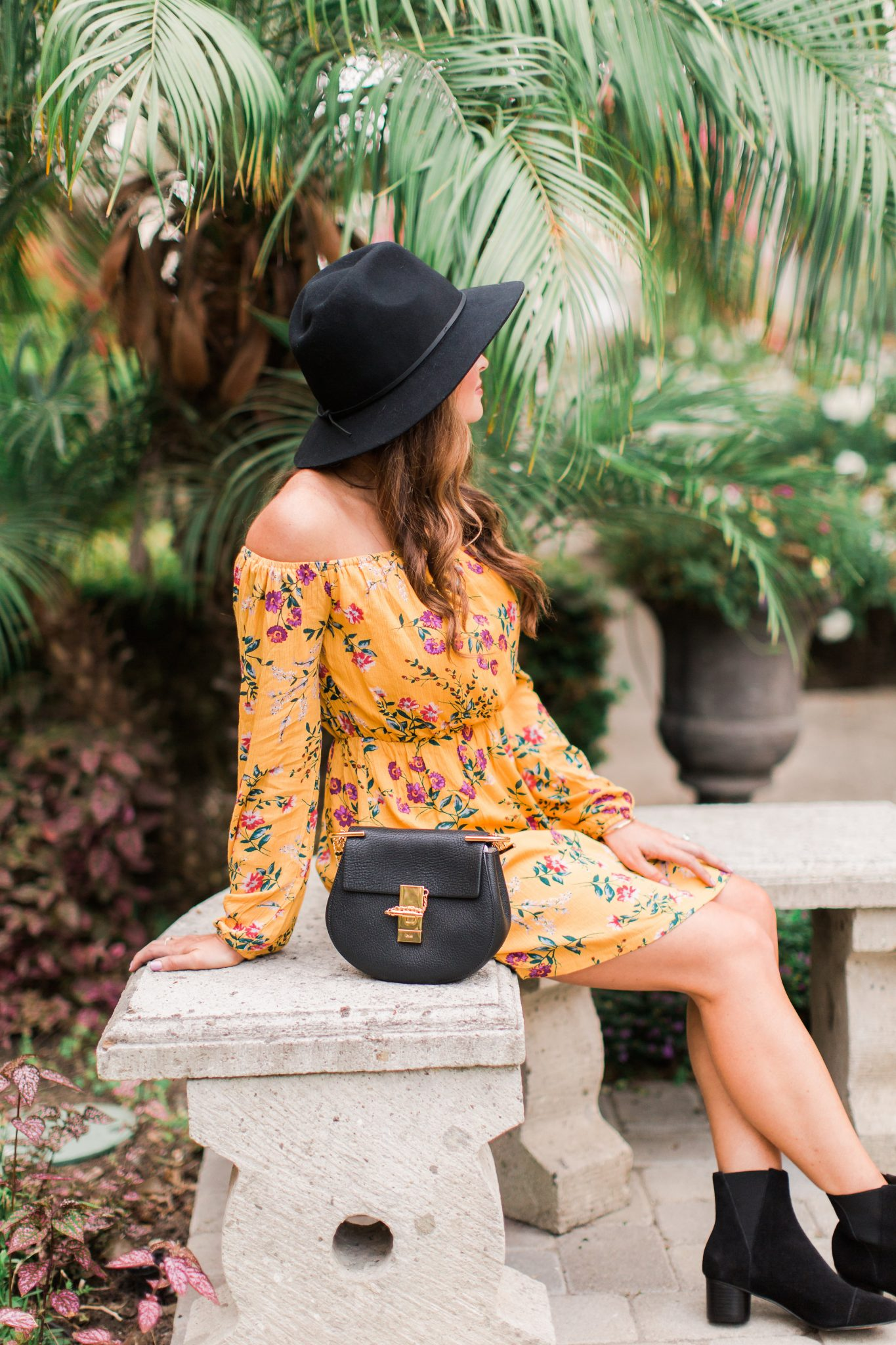 Maxie Elle | Mustard Fall Dress