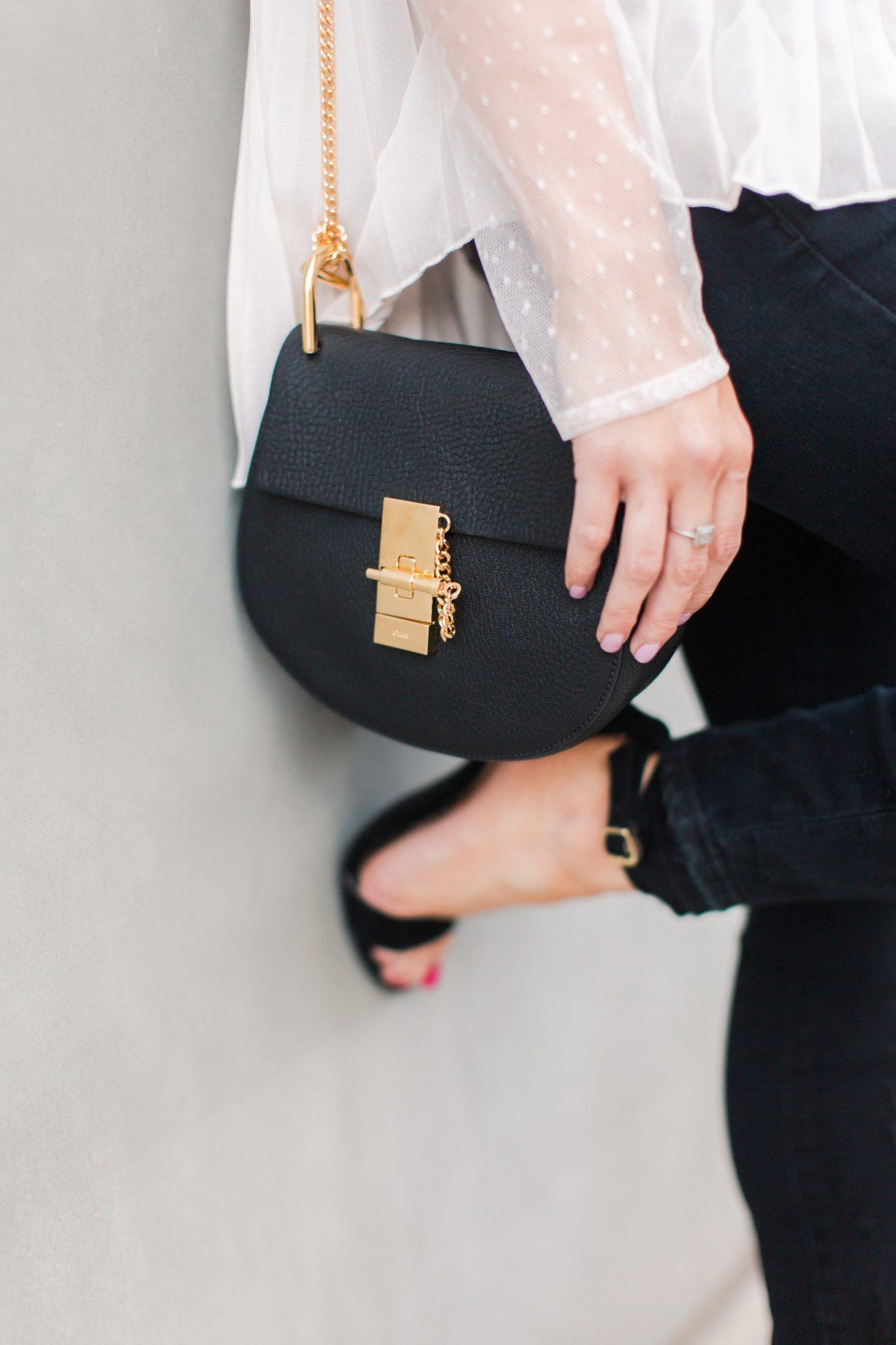 Maxie Elle | Black Chloé bag