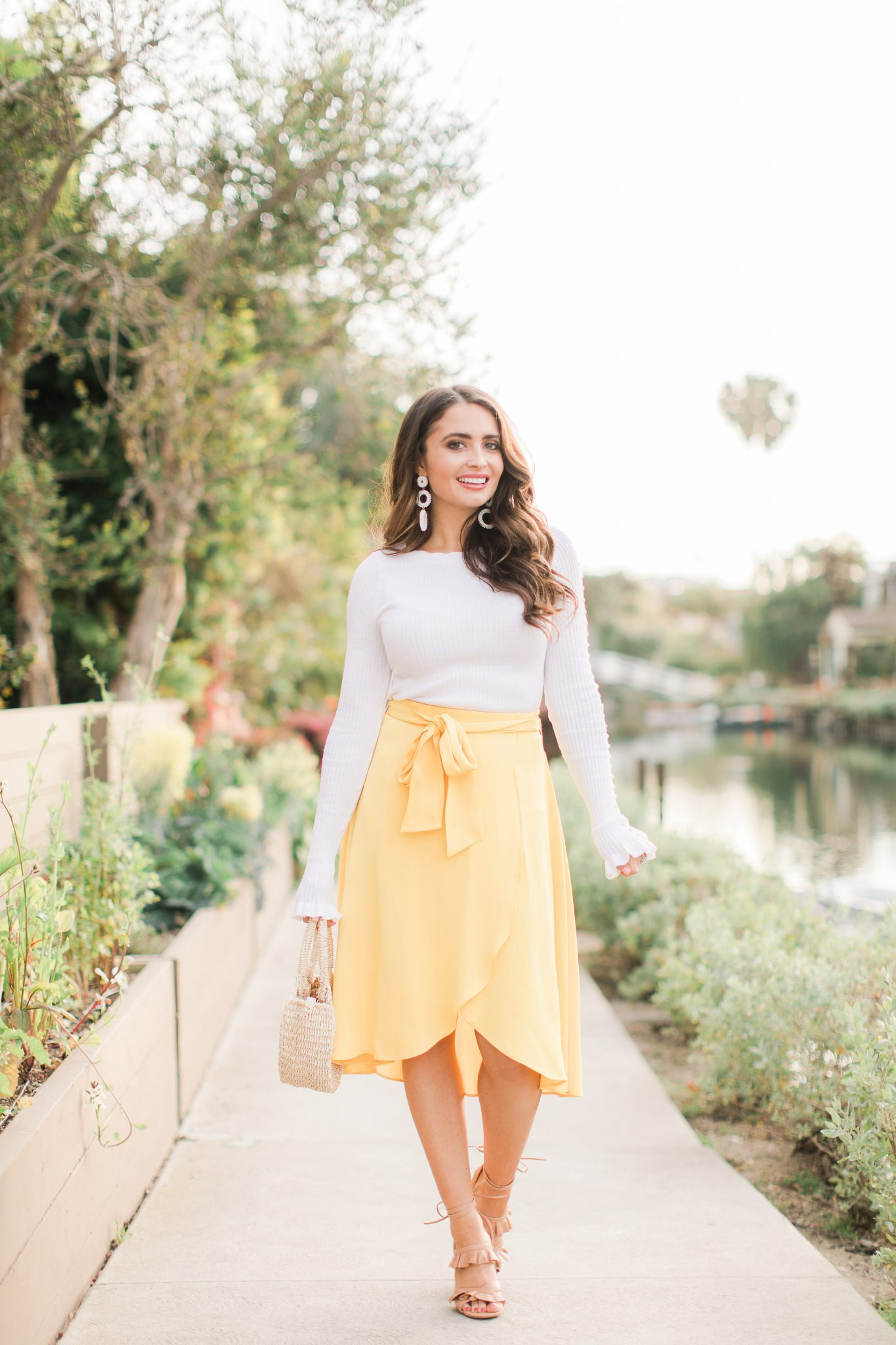 This Season's Hottest Spring Color with Ann Taylor by popular Orange County fashion blogger Maxie Elle